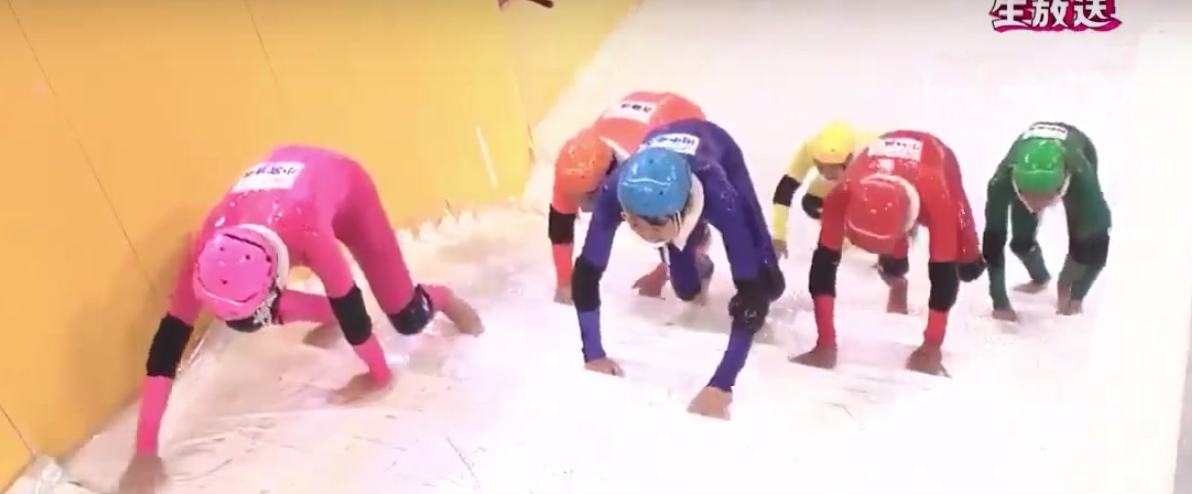 Japanese Game Show U201cSlippery Stairsu201d Needs To Come To Americau2026Like NOW