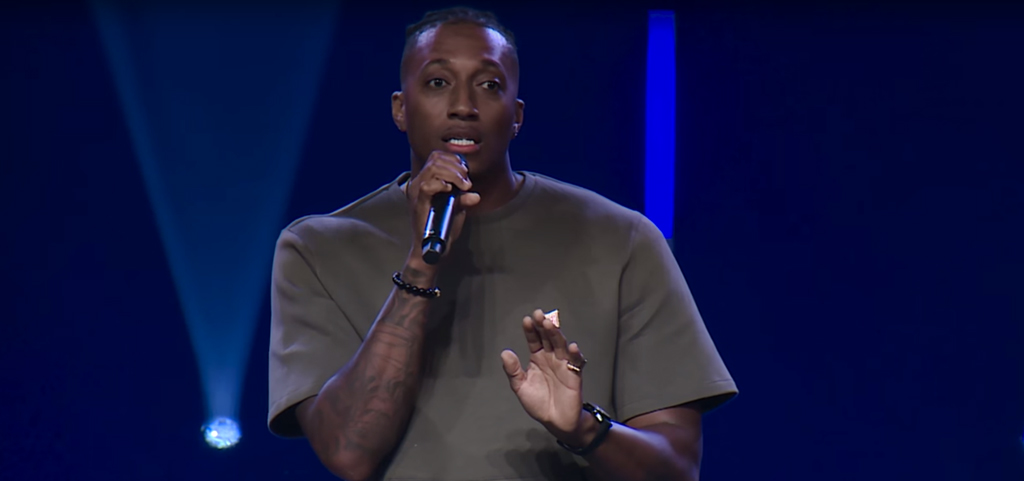 Watch Lecrae Deliver This Powerful Sermon To Vous Church - 91 7 NGEN